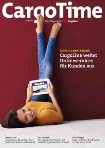 Kundenzeitschrift CargoLine, Digitalisierung, Onlineservices, Onlinespedition