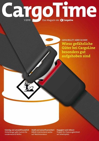 Gefahrstoffe und Gefahrgut sicher gelagert und transportiert mit CargoLine, Kundenmagazin der Stückgutkooperation