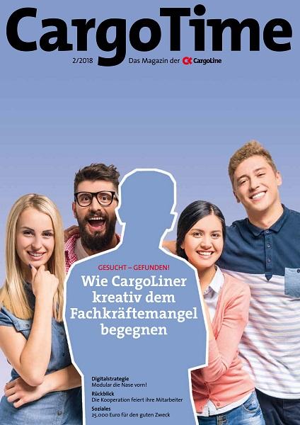 Kundenzeitschrift CargoTime der Speditionskooperation CargoLine