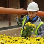 falsche Blumenlieferung, Imagefilm CargoLine, Making of, Hinter den Kulissen, Verwechslung