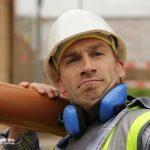 Bauarbeiter ist verwirrt, Imagefilm CargoLine, Making of, Hinter den Kulissen, Verwechslung